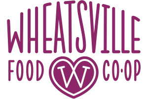 Wheatsville Heart Logo 4inch
