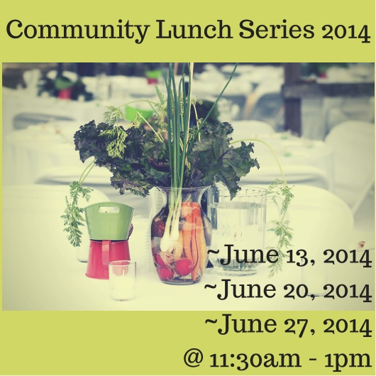 Community Lunch blog graphic
