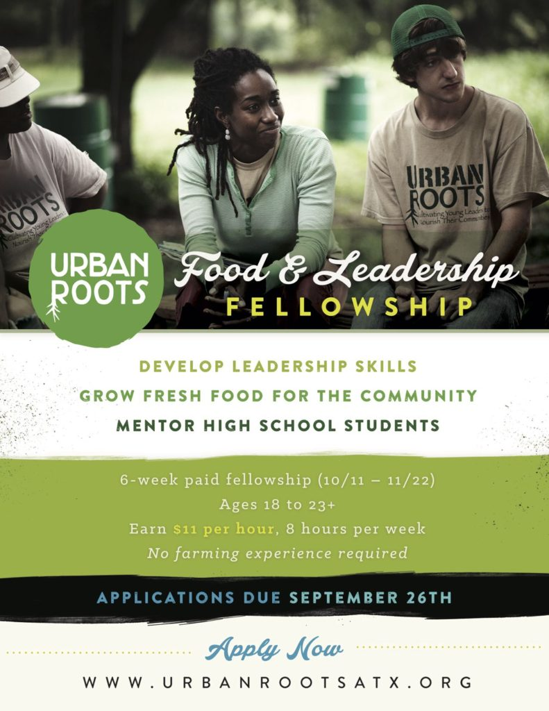 Urban Roots - Food and Leadership Fellowship